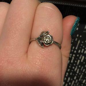 James Avery flower ring